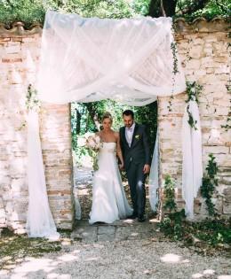 Matrimonio con tinte pastello